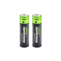 x2 AA Rechargeable Batteries (1300mAh)